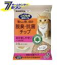 ニャンとも清潔トイレ 脱臭・抗菌チップ 小さめの粒 2.5L×12個 (2ケースセット) 花王 kao [ネコ ねこ 猫砂 猫トイレ ペット用品 にゃんとも]