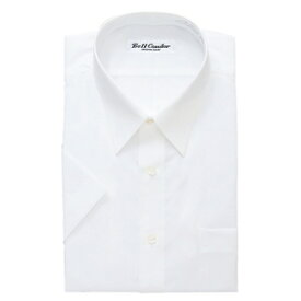 アイトス 半袖カッターシャツ(6040) カラー:ホワイト サイズ:38 (6040ハンソデカッターシャツ) [43030ー001]【4548413142246:11057】