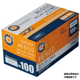 川西工業 カウンタークロス(使い捨て台ふきん)薄手レギュラーサイズ 100枚入 ブルー 【4906554144442:12206】