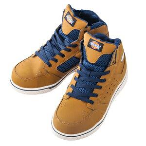 Dickies ディッキーズ ハイカット安全スニーカー(カラー)ブラウン(サイズ)27.0cm [安全靴 セーフティー カジュアル ] D−3308【4536527901552:12553】
