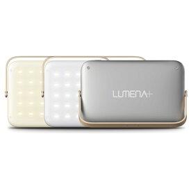 【電源アダプタ付き】 ルーメナー LUMENAプラス グレイ ルーメナープラス LEDランタン 充電式