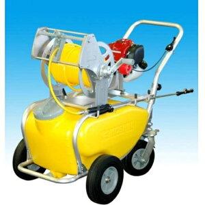 工進(KOSHIN) エンジン式小型動噴 ガーデンスプレーヤー 4サイクル タンク・キャリー一体型 Φ6×50m MS-ERH50T