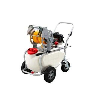 工進(KOSHIN) エンジン動噴 ガーデンスプレーヤー 2サイクル タンク・キャリー一体型 Φ6×50m ES-50T