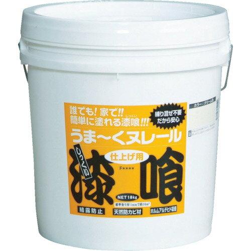 ●日本プラスター うまーくヌレール 白色 18kg DIY 漆喰 しっくい 【4571157300115:14940】