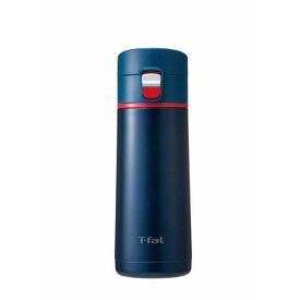 T−fal ステンマグボトル クリーンマグ350MLマリン K23462 【3168430275430:15099】