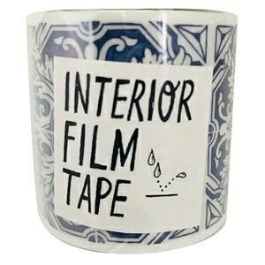 ニトムズ インテリアマスキングテープ タイル/ブルー 50mm×8m M3803 M3803