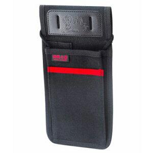 コヅチ 黒獅子ミニ釘袋ロング KKR-56BK【4934053011217:16480】