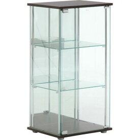 不二貿易 ガラスコレクションケース3段(背面ミラー付き) 注番:96048【4953980960481:16828】