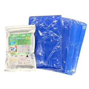□ ゴトウ 非常用トイレ 凝固・脱臭剤 セルレット 50回分セット S-50F 【4964934834208:17480】
