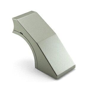 WAKI ABIRA ぬくもり手すり 室内階段専用手すり金具 HF35Series ぬくもりHF35鋼板 壁受け シルバー 7065600 HF01S