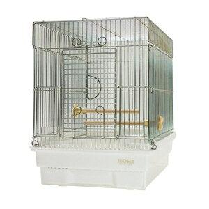 HOEI 鳥 ケージ 21手のり 鳥かご 小鳥用 バードケージ 豊栄金属 鳥ゲージ ホワイト