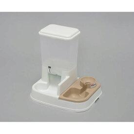 アイリスオーヤマ ペット用自動給餌器 ホワイト JQ−350【4967576312455:1309】