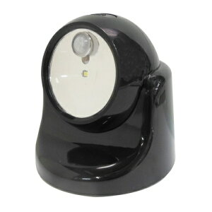 TRAD 乾電池式LEDセンサーライト ブラック TSL−1B ブラック