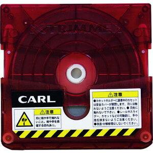 ■カール 裁断機 トリマー替刃 直線〔品番:TRC600〕【1031835:0】