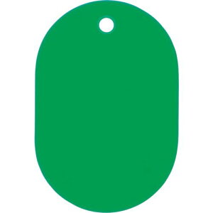 ■OP スチロール番号札 大 無地 5枚入 緑 10袋入 〔品番:BF-1P-GN〕掲外取寄【1130949×10:0】
