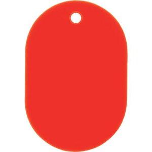 ■OP スチロール番号札 大 無地 5枚入 赤 10袋入 〔品番:BF-1P-RD〕掲外取寄【1132523×10:0】