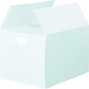 ■TRUSCO ダンボールプラスチックケース 5枚セット B3サイズ 取っ手穴なし 半透明 〔品番:TDP-B3D-5TM〕【1145742:0】【大型・重量物・個人宅配送不可】