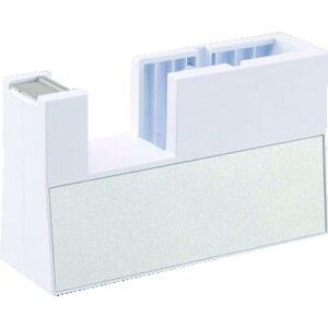 ■ニチバン テープカッター直線美 小巻用 白 TCCBK5 〔品番:TC-CBK5〕【1250181:0】