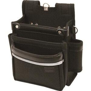 ■KH BASIC 腰袋 3段 ホルダー付 〔品番:BS17〕【1272768:0】[送料別途見積り][法人・事業所限定][掲外取寄]
