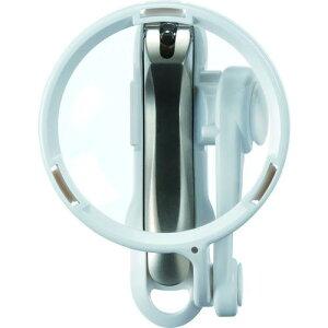 ■GREENBELL 直径70mmルーペ付きステンレス製つめきり〔品番:G1224〕【1373524:0】