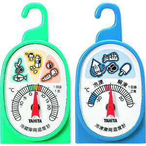 ■ TANITA 冷凍・冷蔵庫用温度計 5497〔品番:5497〕【1488242:0】