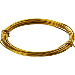 ■TRUSCO 真鍮線 線径1.20MMX約2.5M 〔品番:TBW-18〕【1656346:0】