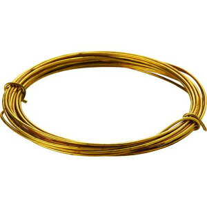 ■TRUSCO 真鍮線 線径0.35MMX約12M 〔品番:TBW-28〕【1656347:0】