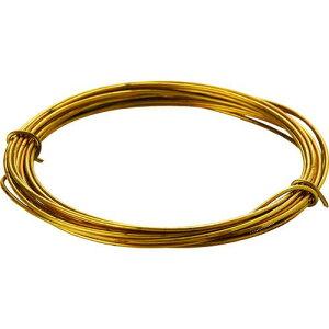 ■TRUSCO 真鍮線 線径0.90MMX約5M 〔品番:TBW-20〕【1656349:0】