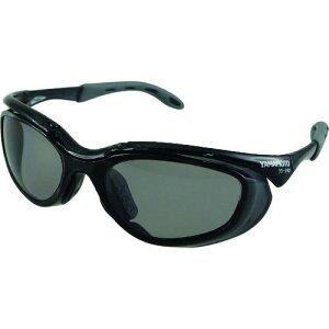 ■YAMAMOTO 2眼形保護めがね 偏光レンズモデル〔品番:YS390PSMKBLK〕【2072818:0】