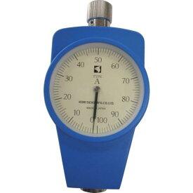 ■古里 ゴムプラスチック硬度計標準型 KR-14A 【2196085:0】