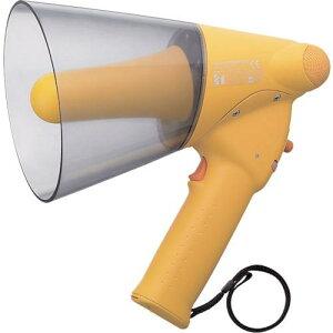 ■TOA 小型ハンド型メガホン ホイッスル音付き〔品番:ER1106W〕【2904551:0】