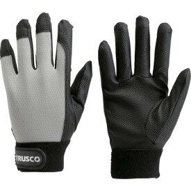 ■TRUSCO PU厚手手袋 LLサイズ グレー TPUG-G-LL トラスコ中山(株)【2997517:0】