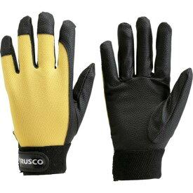 ■TRUSCO PU厚手手袋 Lサイズ イエロー TPUG-Y-L トラスコ中山(株)【2997533:0】