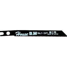 ■ハウスB.M 兼用ジグソー替刃 10枚入り アルミ用 NO1214〔品番:N01214〕【3092321:0】