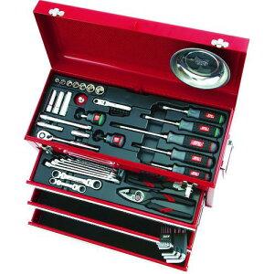 ■KTC 整備用工具セット(チェストタイプ) 〔品番:SK3567X〕【3737985:0】