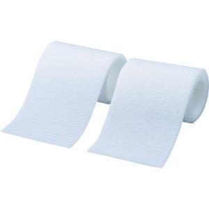 ■TRUSCO マジックテープ 縫製タイプ 50MMX1M 白(1巻=1セット) 〔品番:TMSH-501-W〕【3897290:0】