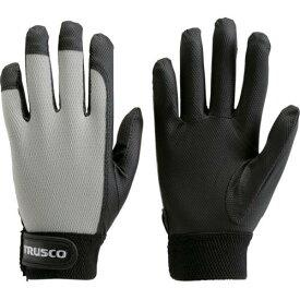 ■TRUSCO PU薄手手袋エンボス加工 グレー LL TPUM-G-LL トラスコ中山(株)【4004728:0】