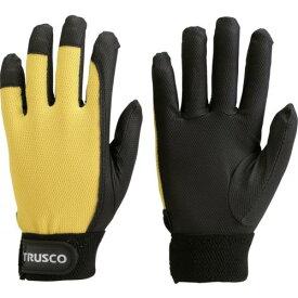 ■TRUSCO PU薄手手袋エンボス加工 イエロー L TPUM-Y-L トラスコ中山(株)【4004744:0】