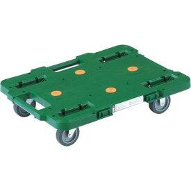 ■TRUSCO ルートバン 370X500 緑 〔品番:MPB-500-GN〕【4144121:0】