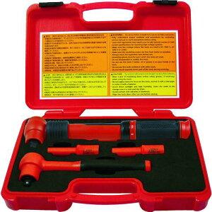■TECH-EV 絶縁工具セット ミニ 4点セット 〔品番:TEVSETMINI〕【4361211:0】