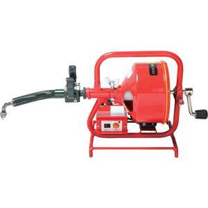 ■ヤスダ 排水管掃除機FX3型電動〔品番:FX3815〕【4664752:0】[法人・事業所限定][直送元]