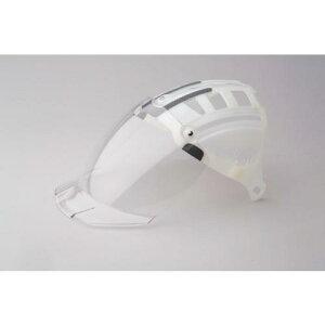 ■ミドリ安全 ヘルメット 交換用シールド面 SC−15PCLNS用〔品番:4007100931〕【4803523:0】