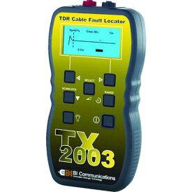 ■グッドマン TDRケーブル測長機TX2003〔品番:TX2003〕【4808606:0】