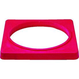 ■サンコー 樹脂製カラーコーンベット(2.0kg)赤 8Y0079 三甲(株)【7568533:0】