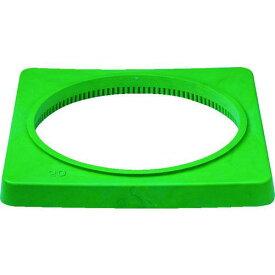 ■サンコー 樹脂製カラーコーンベット(2.0kg)緑 8Y0085 三甲(株)【7568568:0】