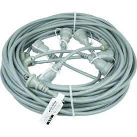 ■HASEGAWA 分岐ケーブル ESTCシリーズ 25m 防水コネクター ESTC-25M-22-5 (株)長谷川製作所【7621132:0】