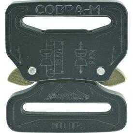 ■ALPIN COBRA バックル 38MM ブラック FF FC38KFF AUSTRIALPIN社【7669003:0】
