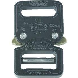 ■ALPIN COBRA PRO バックル 25MM ブラック FX25KVF AUSTRIALPIN社【7669399:0】