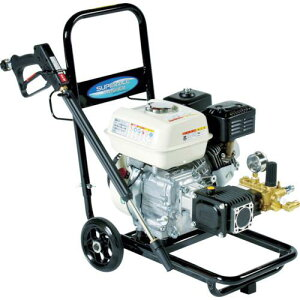 ■スーパー工業 エンジン式高圧洗浄機SEC1015−2N(コンパクト&カート型)〔品番:SEC10152N〕【7704232:0】[送料別途見積り]・[法人・事業所限定]