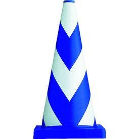 ■サンコー ヘビースコッチコーン700H φ40(3.7Kg) ブルー/ホワイト 8Y0049 三甲(株)【7797567:0】
